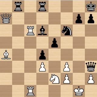 Jeugd : schaak puzzel stelling (1)